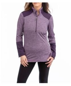 LIV OUTDOOR Basil Quarter Zip Sweater