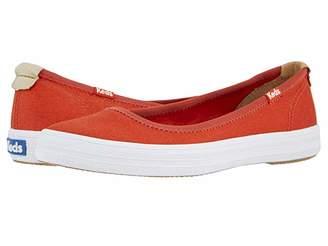 Keds Bryn Seasonal Solids (Red) Women's Slip on Shoes