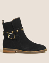 Thumbnail for your product : Marks and Spencer Suede Chelsea Buckle Ankle Boots