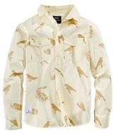Wesc Men's Gambrill AOP Long Sleeve Shirt