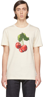 Lanvin Off-White Cherry T-Shirt