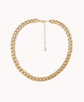 Forever 21 Street-Chic Curb Chain Necklace