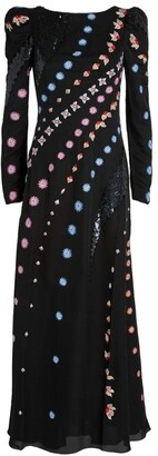 Temperley London Betsey Embroidered Dress