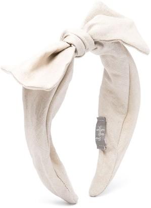 Il Gufo Bow-Detail Headband