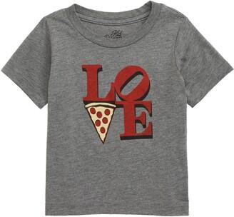 Kid Dangerous Love Pizza Graphic T-Shirt