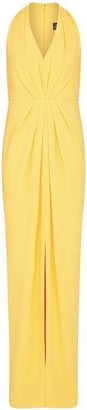Adrianna Papell Pleated Crepe Gown