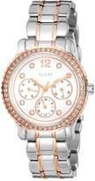 GUESS GUESS? W0305L3 34mm Silver Steel Bracelet & Case Mineral Women's Watch
