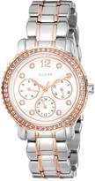 GUESS W0305L3 34mm Silver Steel Bracelet & Case Mineral Women's Watch