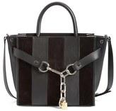 Alexander Wang 'Attica' Leather & Suede Satchel - Black