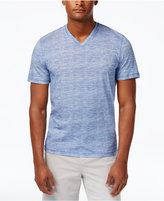Michael Kors Men's V-Neck Space-Dye T-Shirt, Only At Macy's