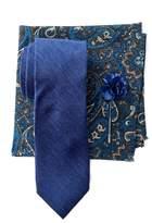 Ben Sherman Melrose Tie, Pocket Square, Lapel Pin Set