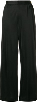 Chanel Pre Owned Wide-Leg Trousers