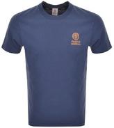 Franklin & Marshall Franklin Marshall Logo T Shirt Navy