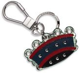 Burberry Crown Exotic Calf Leather Key Tag