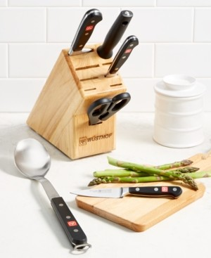 Wusthof Classic 6-Pc. Cutlery Block Set