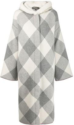 Loro Piana Long Shearling Coat