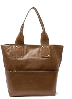 Hobo Pillar Leather Tote Bag
