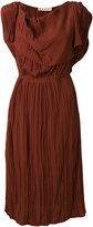 Marni sleeveless pleated dress - women - Acetate/Silk - 40