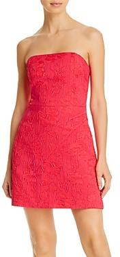 Alice + Olivia Perla Structured Strapless Dress