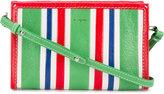 Balenciaga striped Bazar cross-body bag