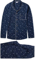 Derek Rose - Nelson 62 Printed Cotton Pyjama Set