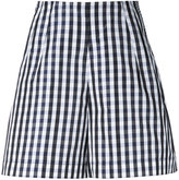 Dice Kayek gingham shorts - women - Silk/Polyester - 36