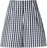 Dice Kayek gingham shorts - women - Silk/Polyester - 40