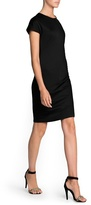 MANGO Outlet Minimal Fitted Dress