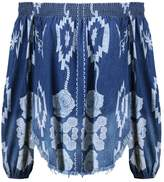 One Teaspoon LUCIA SUGAR Blouse blue cult