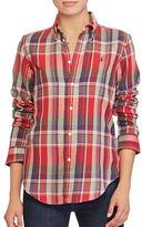 Polo Ralph Lauren Classic-Fit Plaid Cotton Shirt