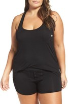 Honeydew Intimates Plus Size Women's Ribbed Short Pajamas