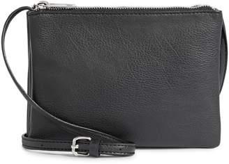 Design Lab Triple Zip Crossbody Bag