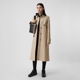 Burberry Technical Cotton Gabardine Trench Coat