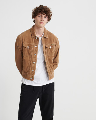 Superdry Highwayman Cord Trucker Jacket