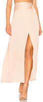 Elizabeth and James Almeria Wrap Skirt in Blush. - size L (also in )