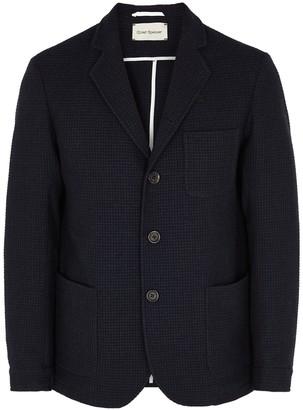 Oliver Spencer Solms Navy Wool-blend Jacket