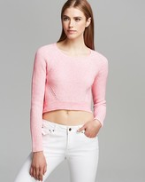 AQUA Pullover - Cropped High/Low