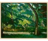 Cezanne The Courtauld Gallery, Paul L'Etang des Soeurs, Osny near Pontoise Circa 1875 Print