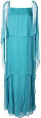 Alberta Ferretti Layered Maxi Dress