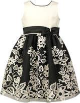 Jayne Copeland Floral Embroidered Dress
