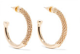 Eddie Borgo Orissa Gold-plated Hoop Earrings