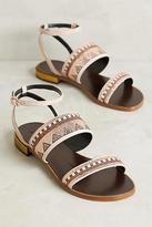 Lola Cruz Beaded Sandals