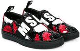 MSGM slip-on sneakers