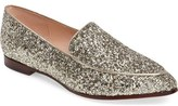 Kate Spade 'calliope' Glitter Almond Toe Loafer (Women)