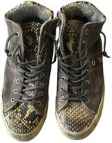 Leather Crown Leather Trainers