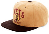 Mitchell & Ness Brooklyn Nets Faux Suede Snapback