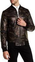 Daniel Won Liam Genuine Leather Camo Jacket