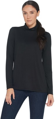 Laurie Felt Knit Long Sleeve Turtleneck Top
