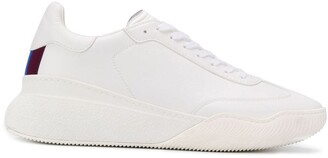 Stella McCartney stripe detail low-top sneakers