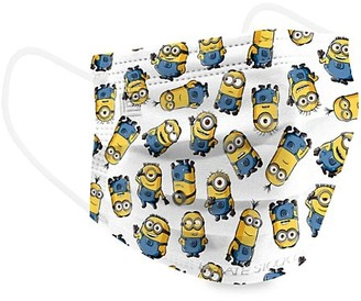 Private Stock Labs Petite Minions Series 4-Ply 10-Piece Face Mask Set